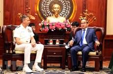 Le chef du commandement américain pour l'Indo-Pacifique à Ho Chi Minh-Ville