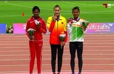 Athlétisme: une médaille d'or pour Quach Thi Lan