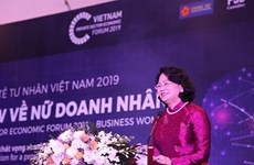 Forum du secteur économique privé: un séminaire sur les femmes d'affaires