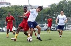 La deuxième édition du tournoi amical de football Vietnam - France avec succès