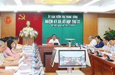 La Commission du contrôle du Comité central du Parti tient sa 37e réunion