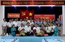 La VNA signe un accord de coopération avec la province de Ca Mau