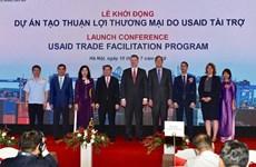 Mise en route du projet de facilitation du commerce de près de 500 milliards de dongs