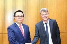 Vietnam-France : Promotion de la coopération entre les Partis communistes