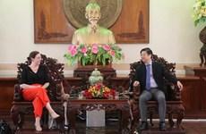 Can Tho et l'Australie s'oriente vers la coopération dans plusieurs domaines