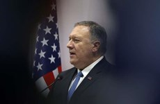 Le secrétaire d'Etat américain Mike Pompeo critique la politique de la Chine en Asie