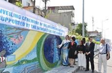 """La """"Route de la céramique au bord du fleuve Rouge"""" accueille une fresque de Taïwan (Chine)"""