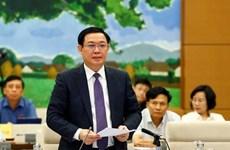 Le vice-PM Vuong Dinh Hue souligne la détermination à lutter contre la corruption