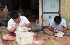 L'art de la sculpture au village de Hiên Giang