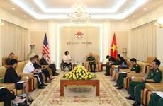 Le Vietnam et les Etats-Unis promeuvent leur coopération dans la défense