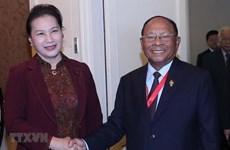 AIPA 40 : Nguyen Thi Kim Ngan reçoit le président de l'AN cambodgienne