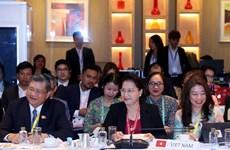 La présidente de l'AN Nguyen Thi Kim Ngan assiste à la réunion du Comité exécutif de l'AIPA