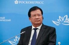 Le vice-PM Trinh Dinh Dung au 5e Forum économique oriental