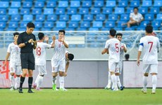 Football : le Vietnam bat la Chine lors d'un match amical