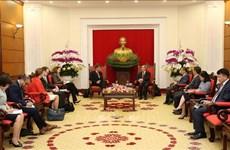 Promotion de la coopération économique entre le Vietnam et les Etats-Unis