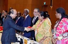 Le PM se félicite de la coopération avec les pays du Moyen-Orient et d'Afrique