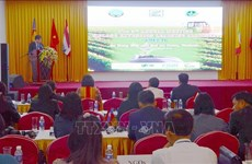 Partage des expériences sur l'encouragement agricole entre les pays de la sous-région du Mékong