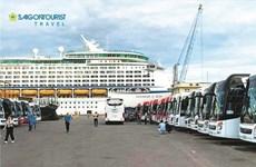 Thua Thiên-Huê: Saigontourist accueille les 4.000 croisiéristes du Voyager of the Seas