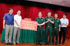 L'ambassade du Vietnam recueille des fonds pour les victimes des inondations au Laos