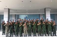 ADMM + : Le Vietnam participe aux exercices de maintien de la paix et de déminage humanitaire
