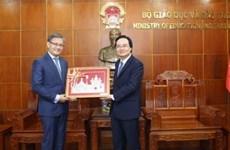 Renforcer la coopération vietnamo-laotienne dans l'éducation