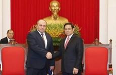 Le vice-Premier ministre biélorusse décrit le Vietnam comme un partenaire fiable