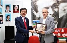 Resserrement des relations entre le Parti communiste du Vietnam et le Parti communiste italien