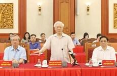 D'anciens dirigeants donnent leur avis sur le projet de rapport politique