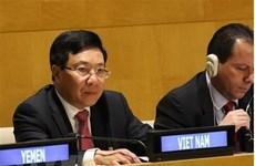 Le vice-PM Pham Binh Minh participe à la réunion ministérielle du G77