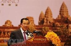 Le Premier ministre cambodgien Samdech Techo Hun Sen entame sa visite officielle au Vietnam