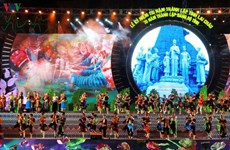 Célébration du 110e anniversaire de la fondation de la province de Lai Chau