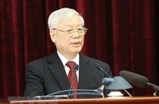 Première journée de travail du 11e Plénum du Comité central du Parti (XIIe mandat)