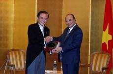 Le PM Nguyen Xuan Phuc reçoit le gouverneur de la préfecture de Kanagawa