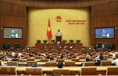 Deuxième semaine de travail de la huitième session de l'AN de la 14e législature