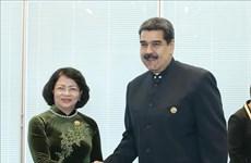 Sommet du MAN : La vice-présidente Dang Thi Ngoc Thinh rencontre des dirigeants étrangers