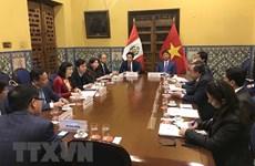 Une délégation du Comité du Parti de Hanoï en visite de travail en Argentine et au Pérou
