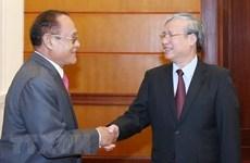 Promotion des relations d'amitié et de cooopération entre le Vietnam et le Cambodge
