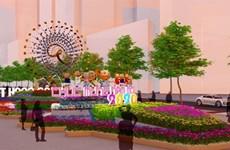 HCM-Ville: La souris, thème principal de la rue florale Nguyên Huê 2020