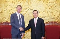 Un responsable du Parti salue l'investissement de Total au Vietnam