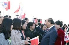 Le PM arrive à Busan pour participer au sommet commémoratif ASEAN-R. de Corée
