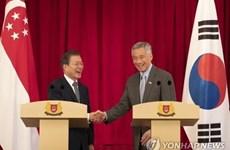 R. de Corée et Singapour renforcent leurs liens dans la 4e révolution industrielle