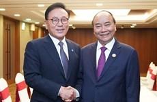 Le Premier ministre reçoit le consul général d'honneur du Vietnam en R. de Corée  