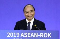 Le PM Nguyen Xuan Phuc participe au sommet des PDG d'ASEAN-R. de Corée