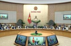 La réunion périodique de novembre du gouvernement