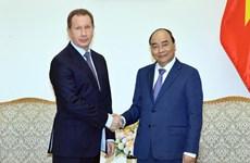 Le PM reçoit le directeur de la Garde nationale russe