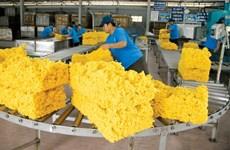 Les exportations de caoutchouc repartent à la hausse