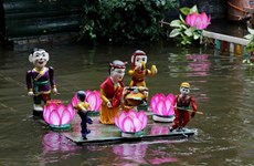 À Dông Ngu, les marionnettes sur l'eau dansent au rythme du quan ho