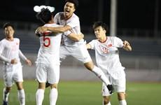 Football : le Vietnam bat Singapour 1-0 aux SEA Games 30