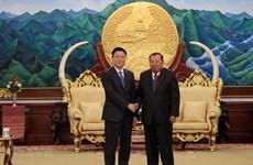 Une délégation du ministère vietnamien de la Justice en visite de travail au Laos