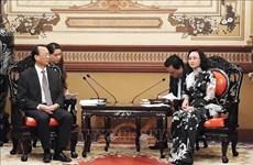 Ho Chi Minh-Ville et la ville chinoise de Chongqing renforcent leur coopération
